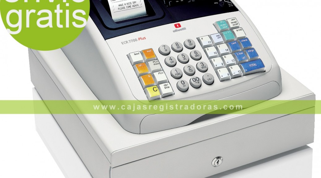 Olivetti ECR 7700 Plus en cajasregistradoras.com