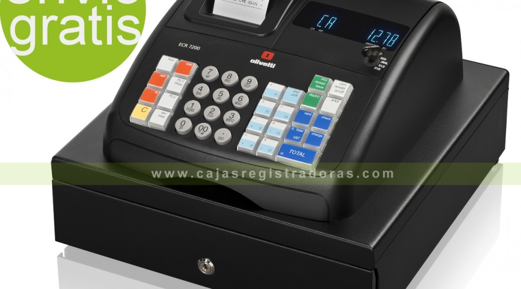 cajasregistradoras.com - Olivetti ECR 7200