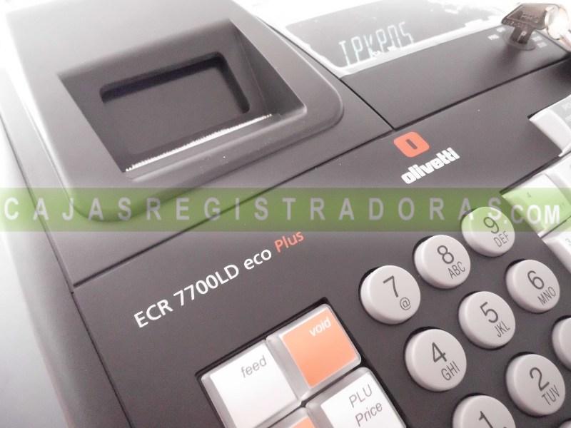 Olivetti ECR 7700 LD ECO Plus +10 Rollos