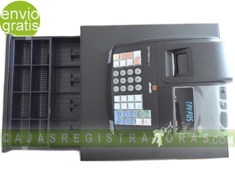 Caja Registradora Olivetti ECR 7700 LD ECO PLUS + 10 Rollso